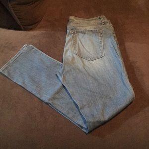 Ann Taylor Loft Light Wash Jeans